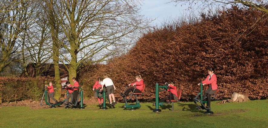 St John's CE Primary School   Outdoor Gym Equipment
