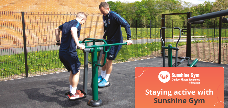 Staying active with Sunshine Gym