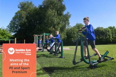 Sunshine Gym meets aims of PE and Sport Premium for primary schools