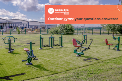 Outdoor gyms: your questions answered