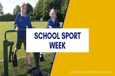 Fitness in Schools – National School Sport Week