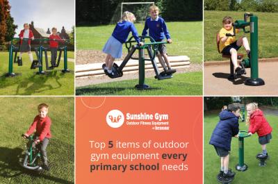 Top 5 pieces of outdoor gym equipment every primary school needs