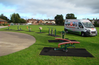 St Mary's Roman Catholic Primary School | Sunshine Gym | Outdoor Fitness Equipment