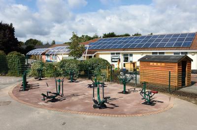 Hillside Primary School | Sunshine Gym | Outdoor Fitness Equipment