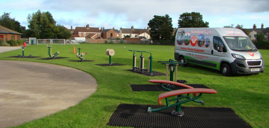 St Mary's Roman Catholic Primary School   Sunshine Gym   Outdoor Fitness Equipment