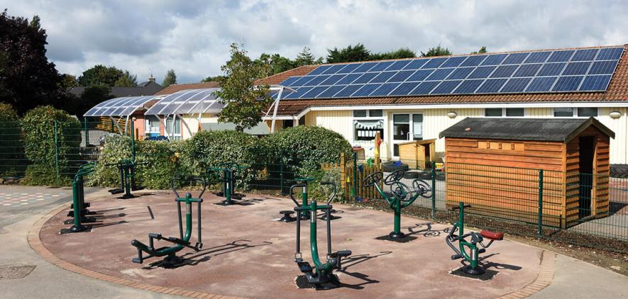 Hillside Primary School   Sunshine Gym   Outdoor Fitness Equipment
