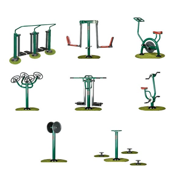 Hospital Rehabilitation Package   Sunshine Gym   Outdoor Equipment Packages
