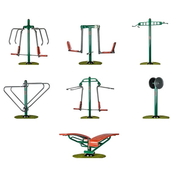 Strength Builder Package | Sunshine Gym | Outdoor Gym Equipment