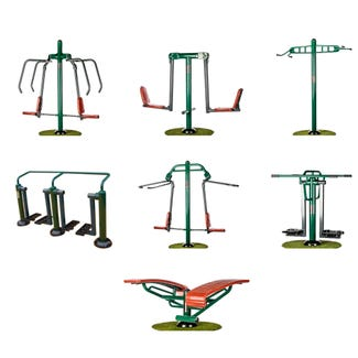 Team Fitness Package | Sunshine Gym | Outdoor Gym Equipment