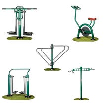 Functional Fitness Package | Sunshine Gym | Outdoor Gym Equipment