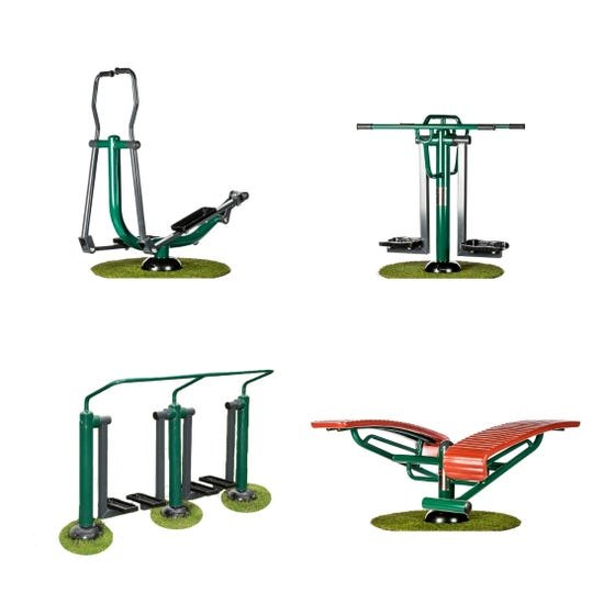 Time Out Package | Outdoor Gym Equipment | Sunshine Gym