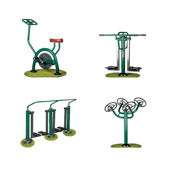 Gentle workout  package | Outdoor gym packages | Sunshine Gym
