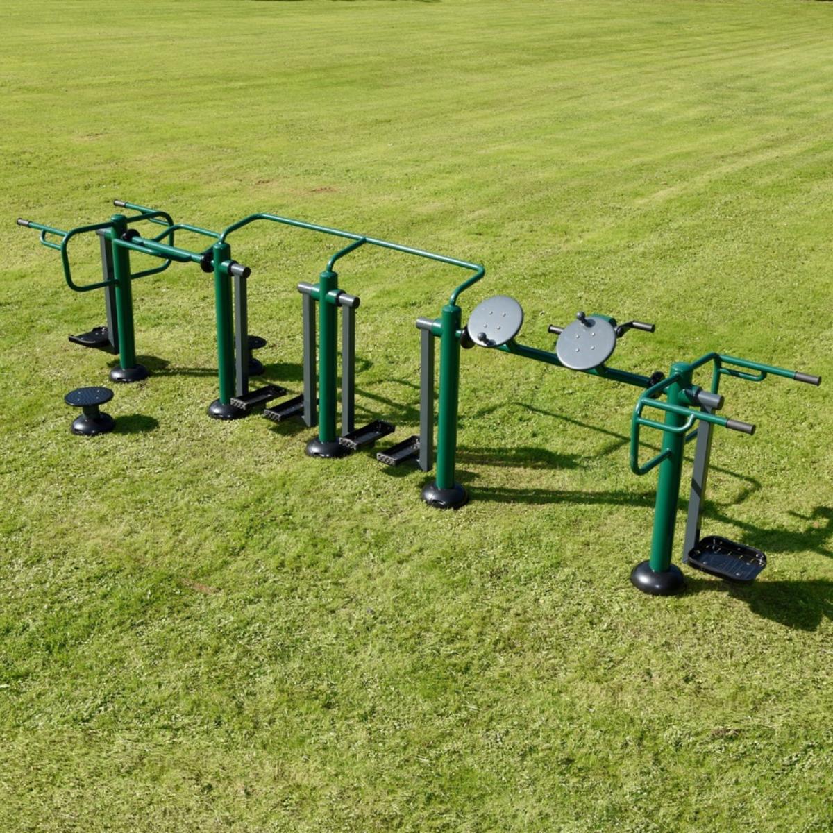 Activ8 Multi Gym   Sunshine Gym   Outdoor Gym Equipment