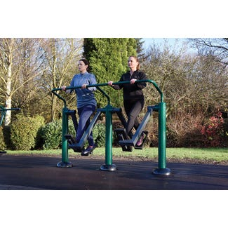 Double Health Walker | outdoor cross trainer | outdoor fitness equipment from Sunshine Gym