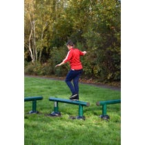 Outdoor Balance Beams | Outdoor gym fitness trail equipment | Adults' Outdoor Gym Equipment by Sunshine Gym