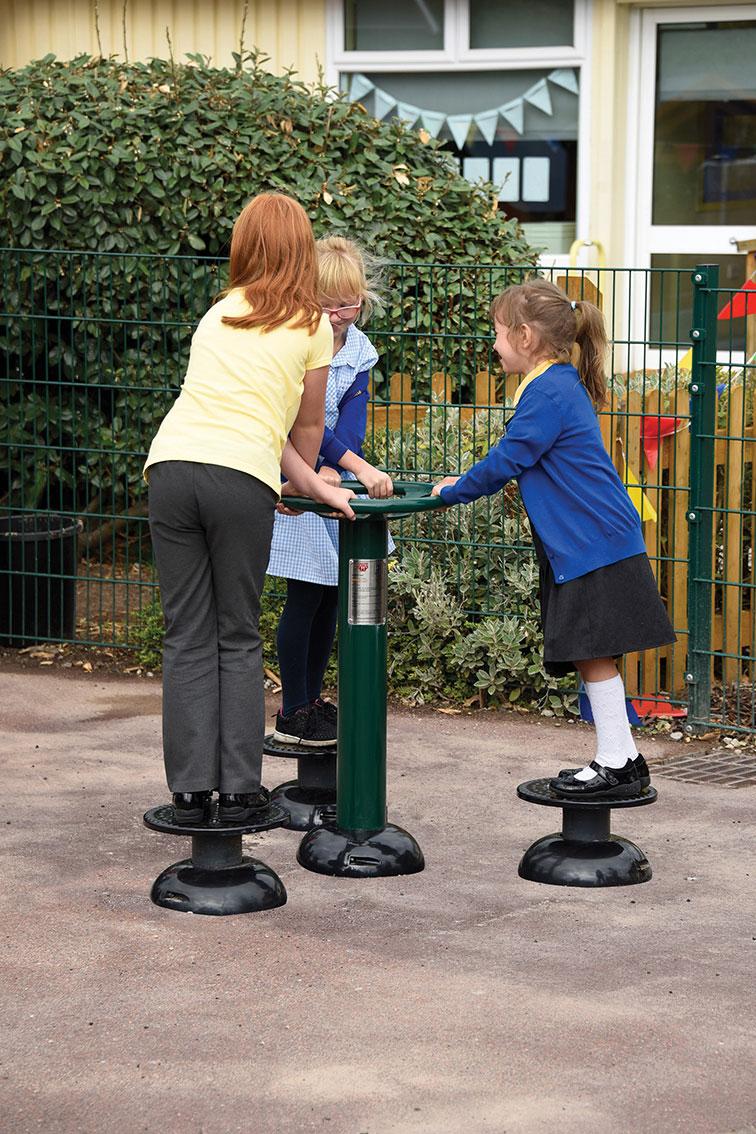 Children's Waist Twister | Children's Hip Twister | Children's outdoor fitness equipment from Sunshine Gym