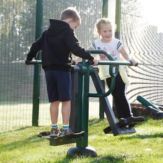 Children's Double Slalom Skier | Children's Double Air Skier | Children's outdoor fitness equipment from Sunshine Gym