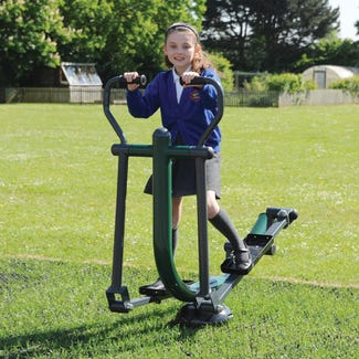 Children's Sky Stepper | Children's Outdoor Elliptical Cross Trainer| Children's outdoor fitness equipment from Sunshine Gym