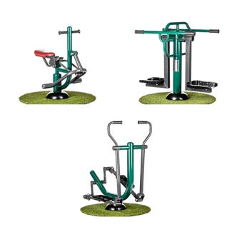 Primary School Mini Fitness Package | Sunshine Gym | Outdoor Gym Equipment