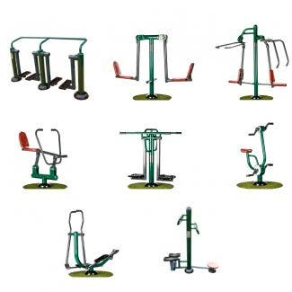 Community Fitness Suite | Outdoor Gym Equipment | Sunshine Gym
