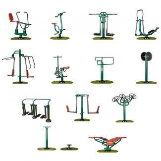 Complete Campus Package | Sunshine Gym | Outdoor Gym Equipment