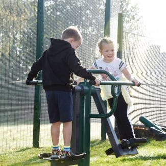 Children's Double Slalom Skier | Children's Double Air Skier | Children's outdoor fitness equipment from Sunshine Gym