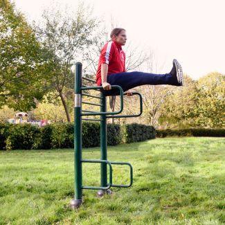 Leg Raise   outdoor leg raise  outdoor fitness equipment from sunshine gym