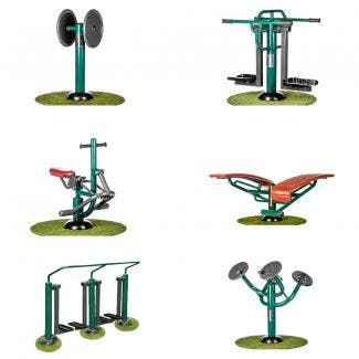 Primary School Exercise Package   Sunshine Gym   Outdoor Fitness Equipment