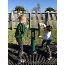 Children's Double Strength Challenger | Children's outdoor fitness equipment from Sunshine Gym