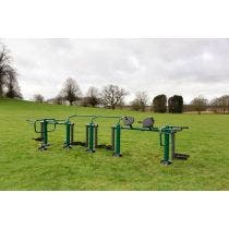 Children's ACTIV8 Multi Gym | Children's outdoor fitness station from Sunshine Gym