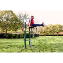 Leg Raise | outdoor leg raise |outdoor fitness equipment from sunshine gym