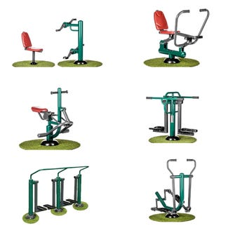 Primary School Outdoor Fitness Package   Sunshine Gym   Outdoor Fitness Equipment