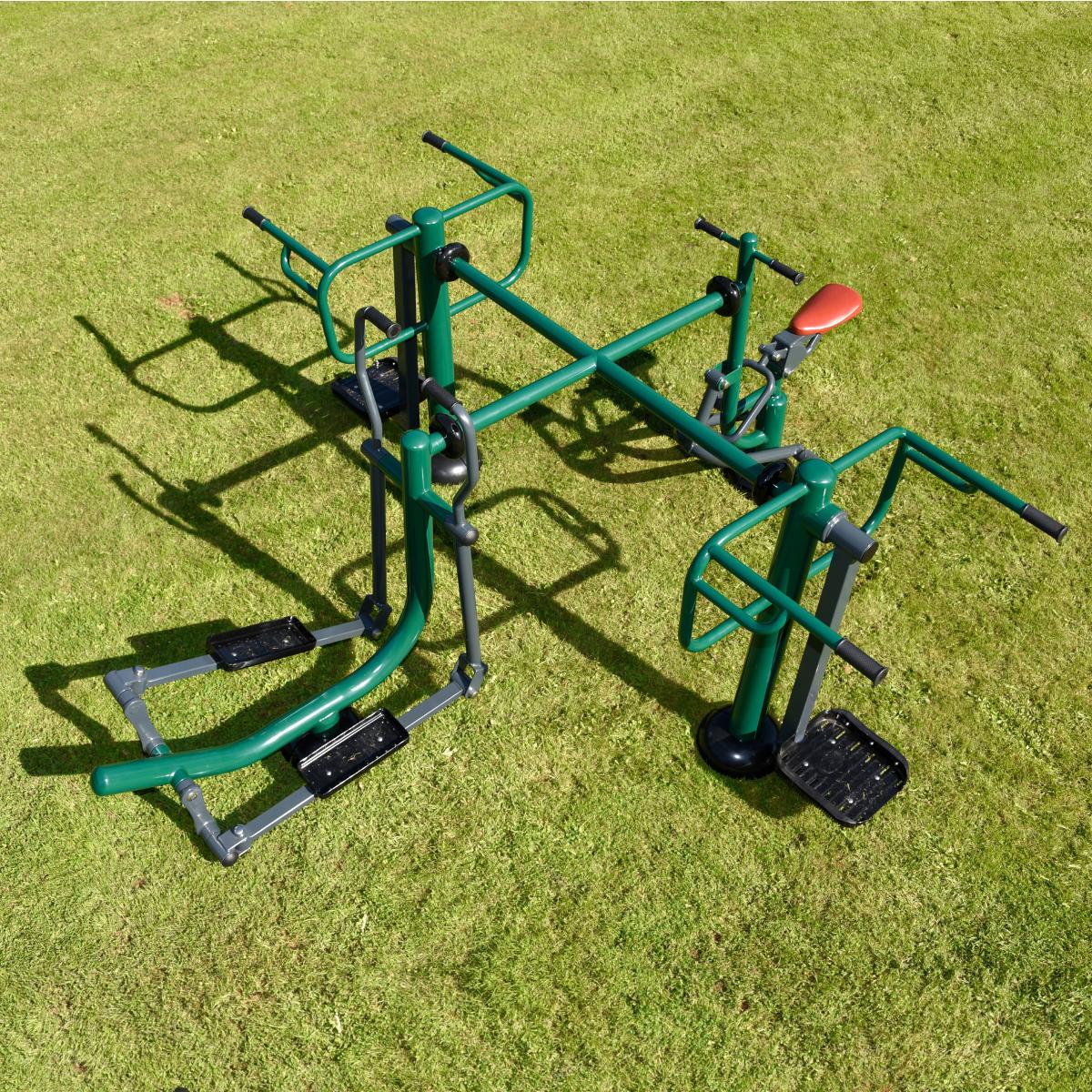 Children's Spacesaver Multi Gym   Outdoor Gym Equipment