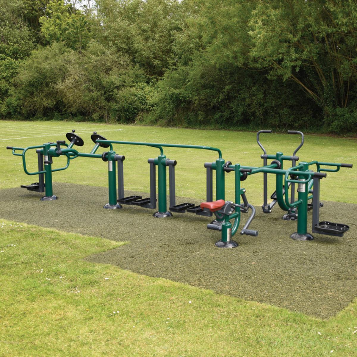 Integr8 Multi Gym   Sunshine Gym   Outdoor Gym Equipment